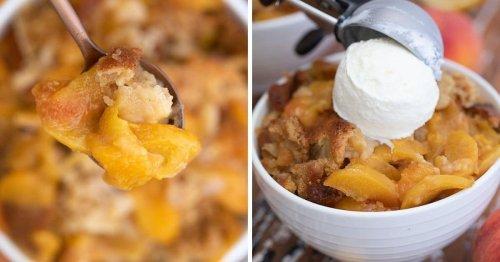 The Best Southern Peach Cobbler Recipe