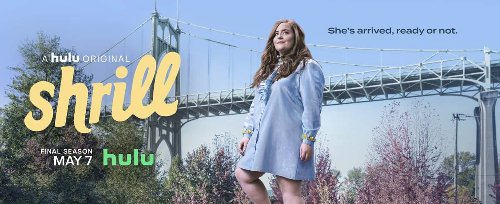 SHRILL Season 3 Trailer And Poster Key Art