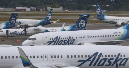 Alaska Air climbs out of the red thanks to improving travel and federal aid