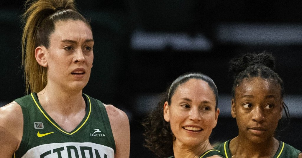 Seattle Storm - cover