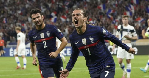 France fine without Mbappé; Denmark perfect in WCup qualies