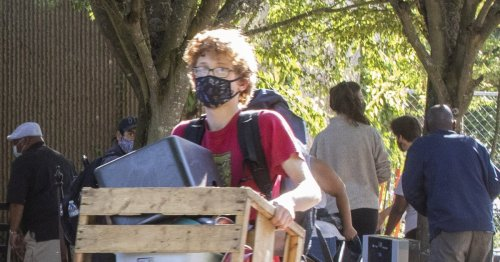 Washington transportation crew clears Seattle homeless encampment after arrests connected to rock-throwing