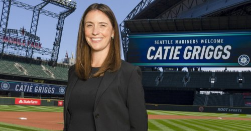 Mariners name Catie Griggs the new president of business operations