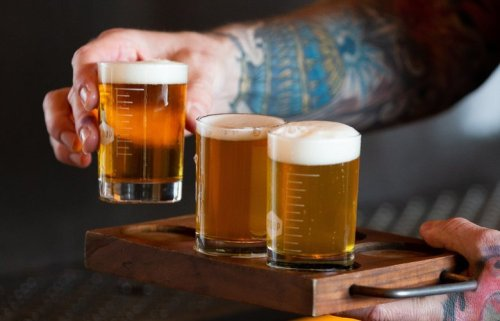 And the four finalists for the title of Seattle's Favorite Brewery are …