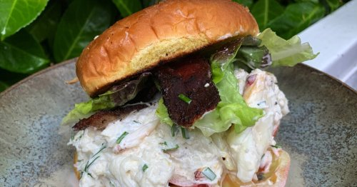 Celebrate Father's Day with a decadent but simple crab BLT sandwich | Cooking with Sadie