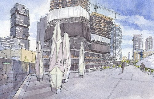 A slew of skyscrapers in the Denny area is reshaping Seattle's skyline