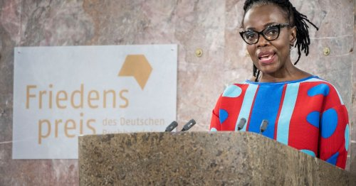 Zimbabwe's Dangarembga receives German peace prize