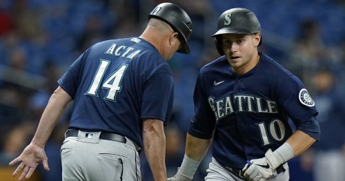 Mariners add offense to support strong effort by Yusei Kikuchi, down Tampa Bay 4-2