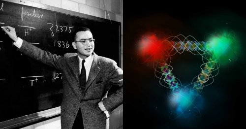 The Inspiring Story of the Man Who Peered at Particles and Saw the Universe.