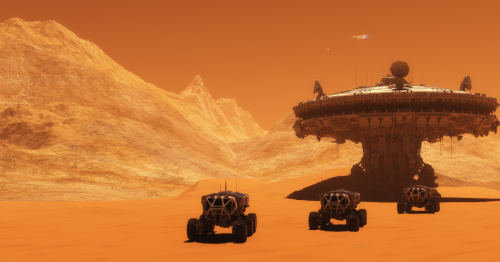 Mars City: What Would A Full Tourist Pack On The Red Planet Look Like?