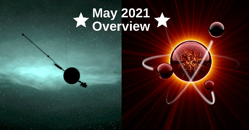 A Cosmic Hum, Macroscopic Quantum Entanglement, And Other Exciting Discoveries In May 2021.