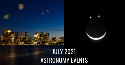 Planet Parade, Mars-Venus Conjunction, And Other Exciting Events To Watch In July.