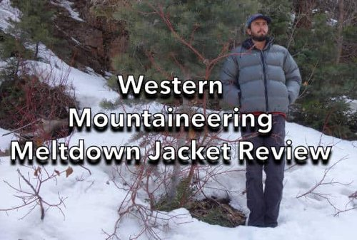 Western Mountaineering Meltdown Jacket Review - SectionHiker.com