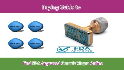 Buy Generic Viagra Online: Guide to Find FDA Approved Viagra