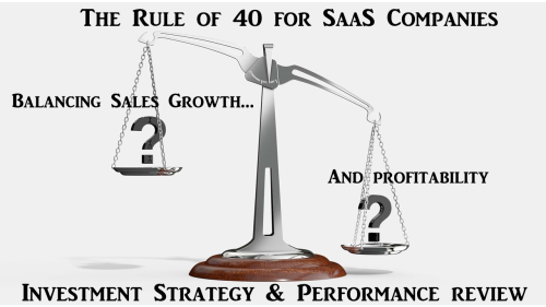 The Rule Of 40 For SaaS Companies - Investing Strategy, Returns And Alpha - Part 1