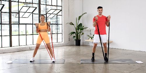 A 25-Minute Low-Impact Resistance Band Workout for Your Upper Body