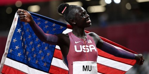 Athing Mu Breaks American Record to Win Team USA's First Olympic 800-Meter Gold in 53 Years
