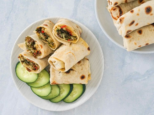 Mexican-Style Burritos With Machaca Guisada (Braised Dried-Beef) Recipe
