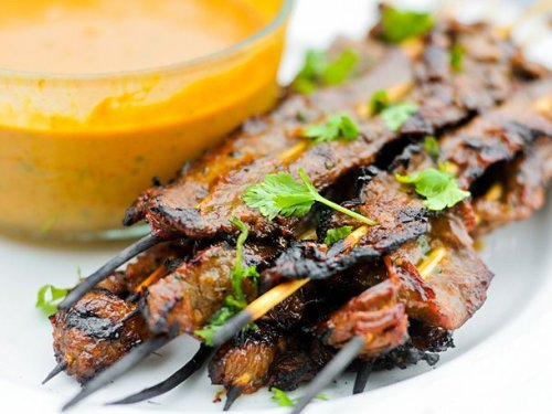 Grilled Beef Satay Recipe