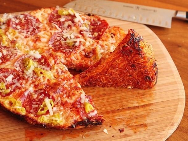 Ramen Crust Pizza Recipe