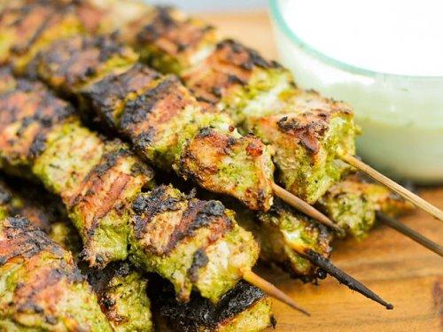 Grilled Jerk Pork Skewers Recipe