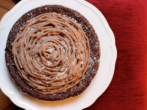 The Perfect Holiday Dessert: Flourless Chocolate-Chestnut Torte