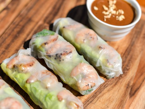 Vietnamese Grilled Shrimp Summer Rolls Recipe