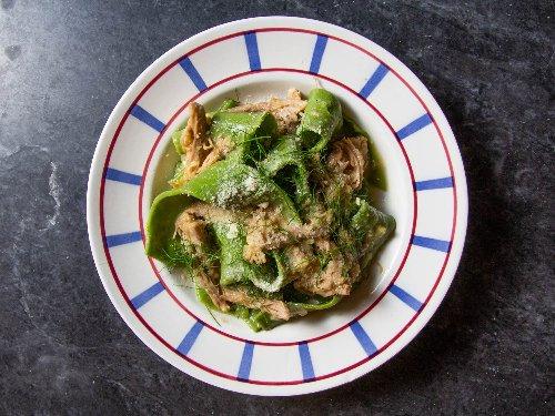 Roast Pork Shoulder Ragù in Bianco With Pasta Recipe