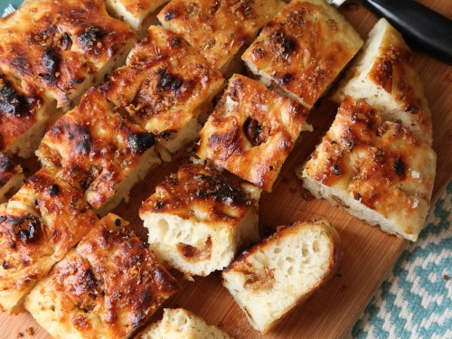Easy Roasted-Garlic Focaccia That's Too Good to Share
