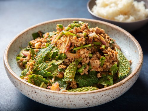 Laab Moo Isan (Thai Isan-Style Minced Pork Salad)