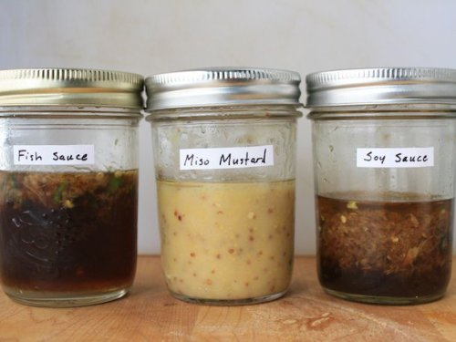 Rice Wine and Soy Sauce Dressing Recipe
