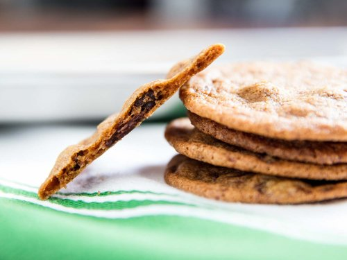 Tate's-Style Thin and Crispy Chocolate Chip Cookies Recipe