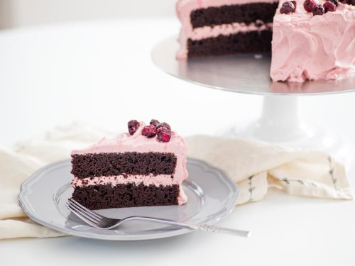 Chocolate Cherry Layer Cake Recipe