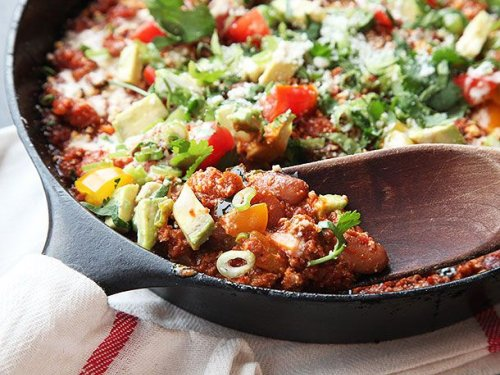 Spicy Chorizo and Pinto Bean Chili Recipe