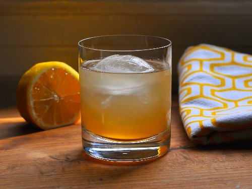 Gold Rush Cocktail Recipe