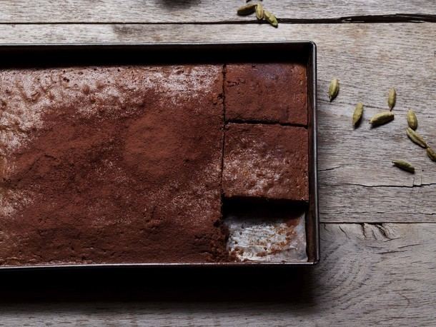 Turkish Coffee Brownies Recipe