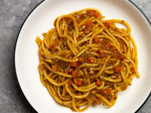 Pasta al Sugo Finto (Pasta With Tuscan Vegetable Ragù) Recipe