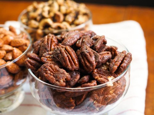 Mexican-Spiced Chocolate Pecans Recipe