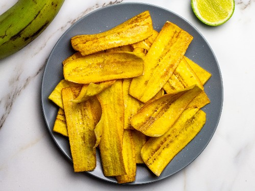Fried Plantain Chips Recipe