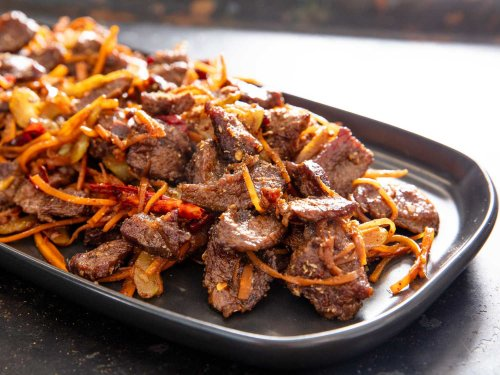 Sichuan Dry-Fried Beef Recipe