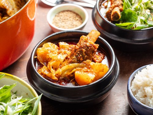 Gamja-tang (Korean Pork and Potato Stew)