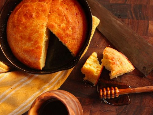 Moist and Tender Brown Butter Cornbread Recipe