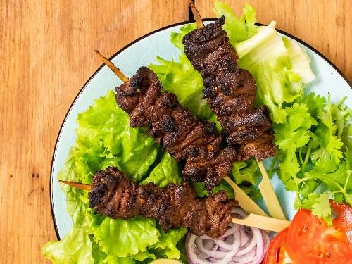 Nigerian Beef Suya (Spiced Grilled Skewers) Recipe