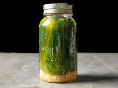 Milwaukee Dill Refrigerator Pickles Recipe