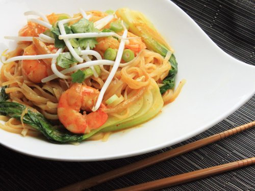 Curried Coconut Noodles With Shrimp Recipe