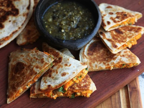 Quesadillas With Sweet Potato Instead of Cheese: Worth the Backlash