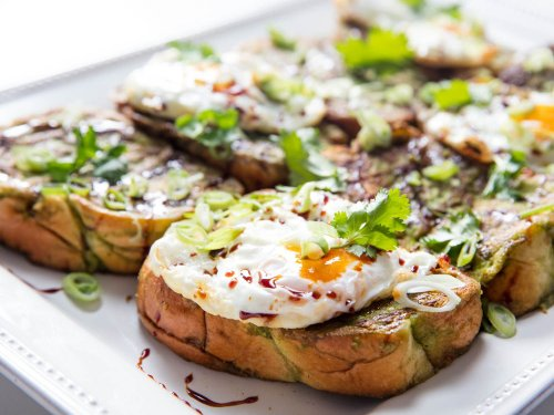 Savory Green Curry French Toast Recipe