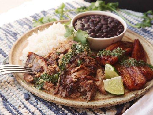 Cuban-Style Roast Pork Shoulder With Mojo Recipe