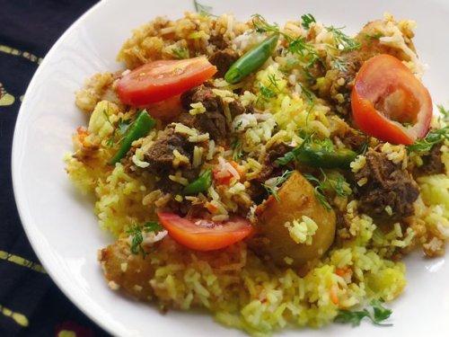 Lamb or Chicken Biryani Recipe