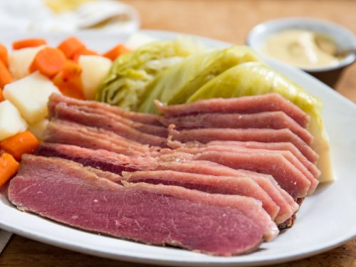 Corned Beef Brisket, Potatoes, Cabbage, and Carrots for St. Patrick's Day Recipe